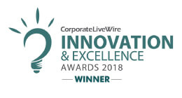 innovation and excellence winner 2018 CJ
